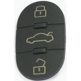 3 Tasti per Cover o Scocca o Guscio Chiave Audi mod: A2 A3 A4 A6 A8 TT ecc.