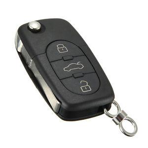 3 Tasti Cover o Scocca o Guscio Chiave senza Telecomando Per Audi mod: A2 A3 A4 A6 A8 TT ecc.