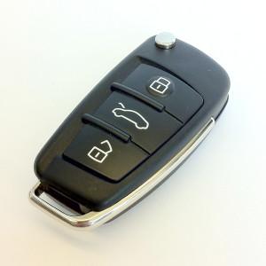 3 Tasti Cover o Scocca o Guscio Chiave senza Telecomando Per Audi mod: A2 A3 A4 A6 A8 TT q7 ecc.