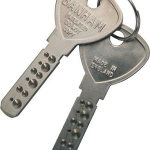 BANHAM copy key
